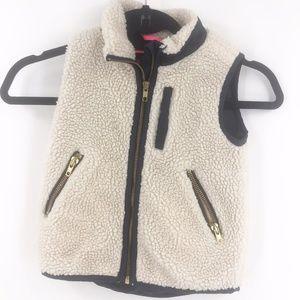 CREWCUTS Sherpa Vest size 4/5